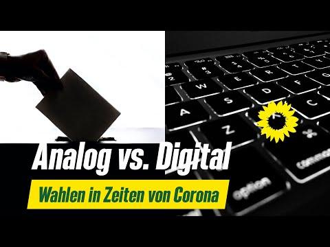 Analog vs. Digital - Wahlen in Zeiten von Corona end