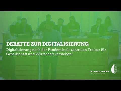 Rede im Landtag: Debatte zur Digitalisierung