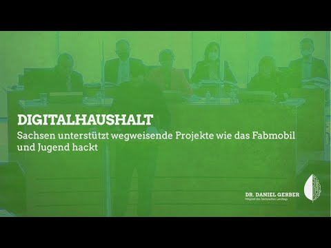 Rede im Landtag: Digitalhaushalt