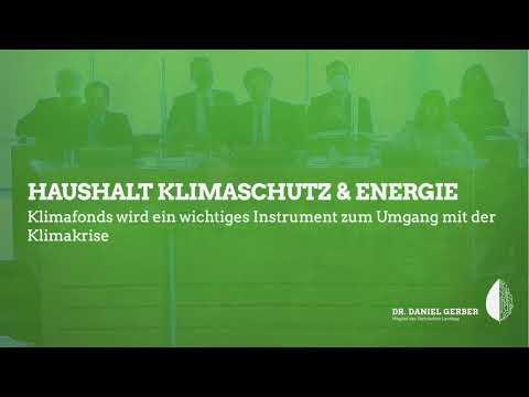 Rede im Landtag: Haushalt Klimaschutz & Energie