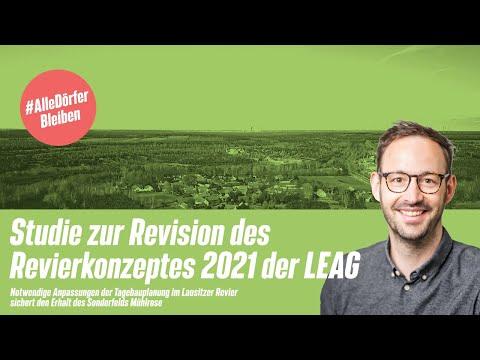 Vorstellung der Studie zur Revision des Revierkonzeptes 2021 der LEAG