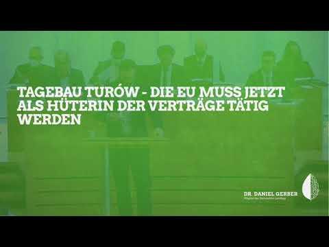 Rede im Landtag: Tagebau Turów - Die EU muss jetzt als Hüterin der Verträge tätig werden