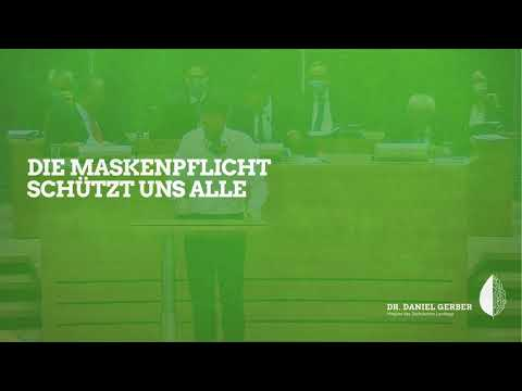 Rede im Landtag: Die Maskenpflicht schützt uns alle