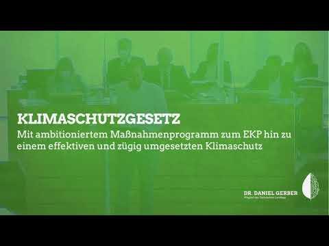 Rede im Landtag: Klimaschutzgesetz
