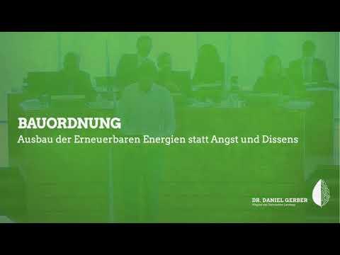 Rede im Landtag: Bauordnung