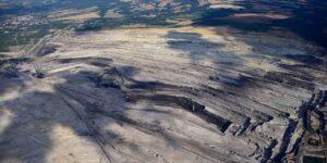 Tagebau Turów, Luftaufnahme (2019)
