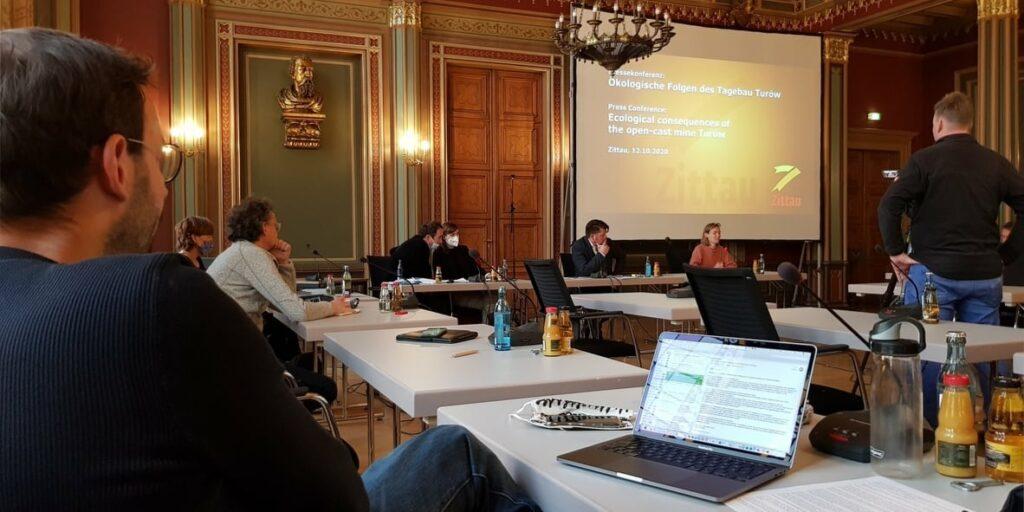 Präsentation der Studie in Zittau