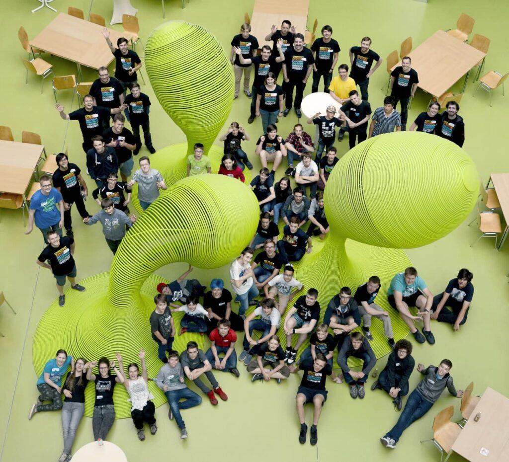 Teilnehmer bei Jugend hackt Dresden 2016