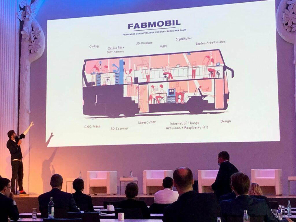 Vortrag zum Fabmobil auf dem KI-Kongress